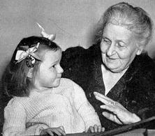 Maria Montessori, 1870- 1952. Fonte: Wikimedia Commons