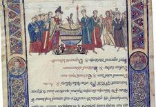 Rotoli liturgici del medioevo meridionale (dettaglio)