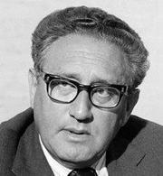 Henry Kissinger, Nobel per la pace 1973. Fonte: Wikipedia