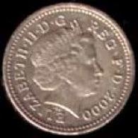 Sterlina britannica. Fonte: Wikipedia