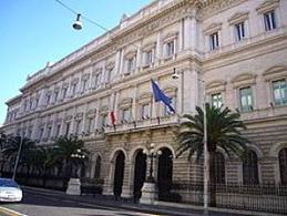Palazzo Koch, via Nazionale, Roma. Sede centrale della Banca d'Italia. Fonte: Wikipedia.