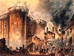 Prise de la Bastille di Jean-Pierre-Louis-Laurent Houel. Fonte: Wikipedia