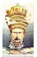 Satira del 1901 di John Davison Rockefeller. Fonte: Wikipedia
