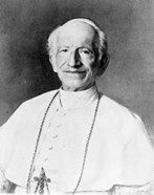 Leone XIII (pontefice dal 1878 al 1903). Fonte: Wikipedia