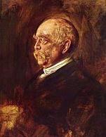 Otto Von Bismarck (1815-1898), in un ritratto del 1889 di Franz von Lenbach. Fonte: Wikipedia