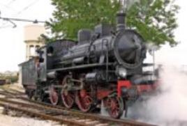 Locomotiva a vapore del 1907. Fonte: Wikipedia