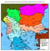 La penisola balcanica. Fonte: Wikipedia.