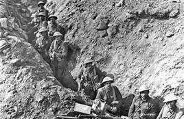 Guerra di trincea. Fonte: Wikipedia.