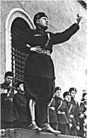 Benito Amilcare Mussolini (1883-1945). Fonte: Wikipedia.