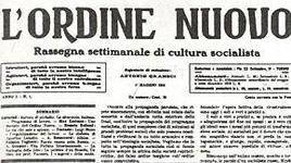 Primo numero dell'Ordine Nuovo a Torino redatto da Antonio Gramsci (1 maggio 1919). Fonte: Wikipedia