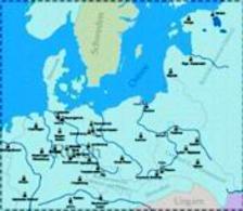 Rete dei campi di concentramento. Fonte: Wikipedia.