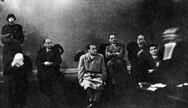 Galeazzo Ciano, genero di Mussolini, condannato a morte al processo di Verona. Fonte: Wikipedia.