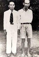 Il generale Giap e Ho Chi Minh nel 1942. Fonte: Wikipedia.