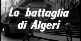 Film di Gillo Pontecorvo La battaglia di Algeri. Fonte: Wikipedia.