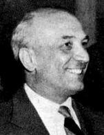 Amintore Fanfani (1908-1999). Fonte: Wikipedia.