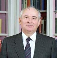 Michail Gorbaciov (1931). Fonte: Wikipedia.