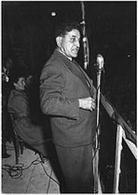 Giuseppe Di Vittorio, segretario della CGIL (1892-1957), condannò l'intervento sovietico a Budapest. Fonte: Wikipedia.