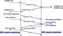 Sessione BGP