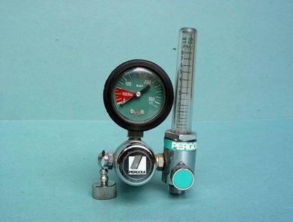 Manometro (con riduttore) e flussometro