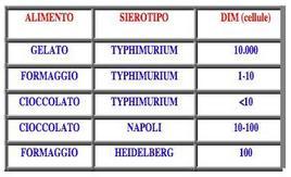 Patogenesi di Salmonella spp.
