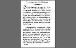 Prima pagina di Che cos'è l'illuminismo (1784). Tratta da: wikipedia