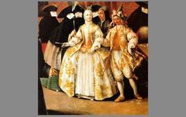 P. Longhi, Il ridotto (olio su tela), 1740. Tratta da: artnet