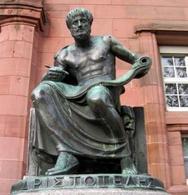 Aristotele  (IV sec. a. C.), Università di Friburgo in Bresgovia.