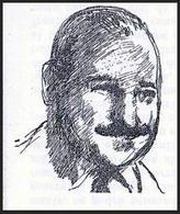 """Raffaello Franchini (1920-1990). Disegno tratto da """"Criterio"""", 4/1957"""