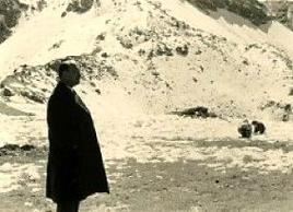 Un'immagine di Weil durante gli anni parigini.