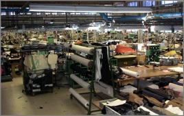 La confezione di abbigliamento è una produzione batch