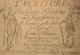 Page de titre d'un traité de C. A. Berey. Fonte: wikimedia