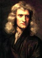 Isaac Newton (1643-1727). Fonte: Wikipedia