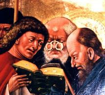 Apostel mit Nietbrille, 1439. Fonte: Wikimedia Commons