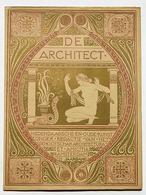 De Architect, verenigingsblad Architectura et Amicitia. 1913. Fonte: Wikimedia Commons
