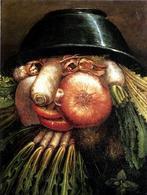 """G.Arcimboldo """"Ritratto con vegetali"""". Fonte: Wikimedia Commons"""