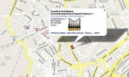 Mappa della sede Fonte: Google Maps