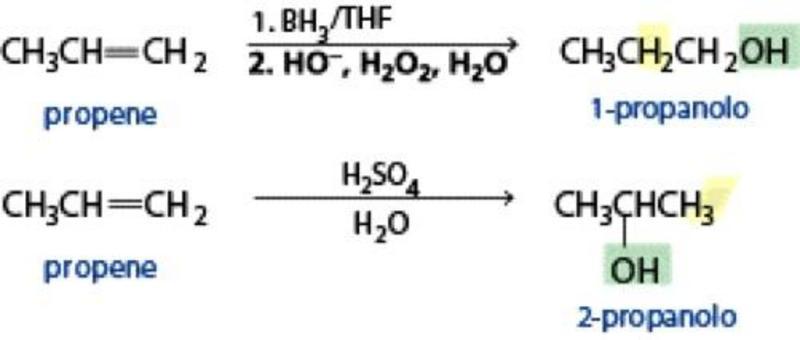 Come trasformare lo stesso alche in due alcol diversi