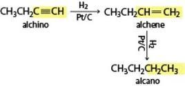 Idrogenazione degli alchini