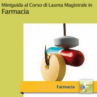 Corso di Laurea Magistrale in Farmacia