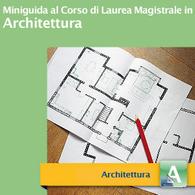 Corso di Laurea Magistrale in Architettura