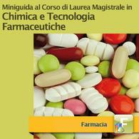 Corso di Laurea Magistrale in Chimica e Tecnologia Farmaceutiche