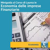 Corso di Laurea in Economia delle Imprese Finanziarie