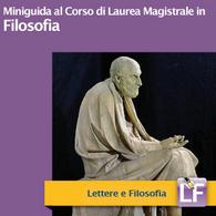 Corso di Laurea Magistrale in Filosofia