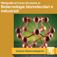 Corso di Laurea in Biotecnologie Biomolecolari e Industriali