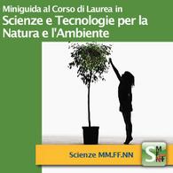 Corso di Laurea in Scienze e Tecnologie per la Natura e l'Ambiente