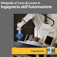Corso di Laurea in Ingegneria dell'Automazione