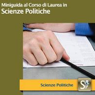 Corso di Laurea in Scienze Politiche