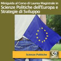 Corso di Laurea Magistrale in Scienze Politiche dell'Europa e Strategie di Sviluppo