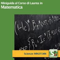 Corso di Laurea in Matematica