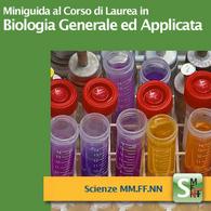 Corso di Laurea in Biologia Generale e Applicata